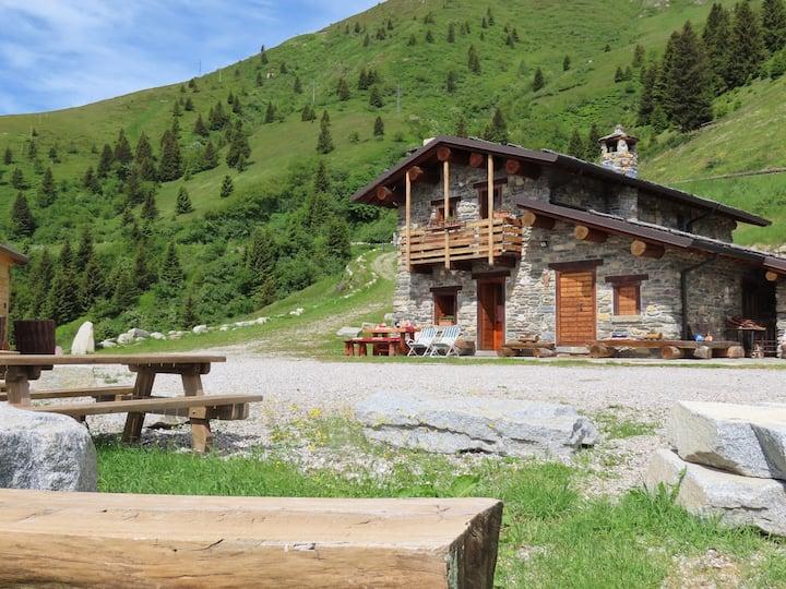 Baita Alpe Monte Nuovo