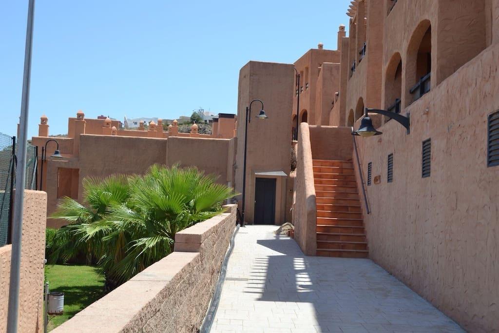 Apartamento con primeras calidades apartamentos en alquiler en moj car andaluc a espa a - Apartamentos alquiler mojacar ...