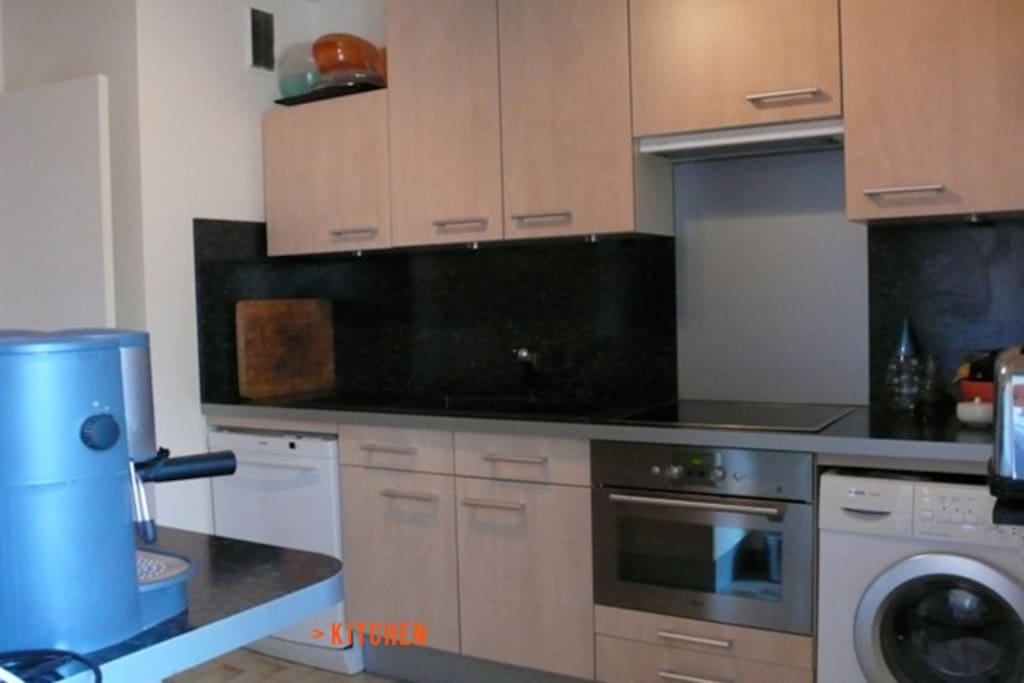 Very well equiped kitchen