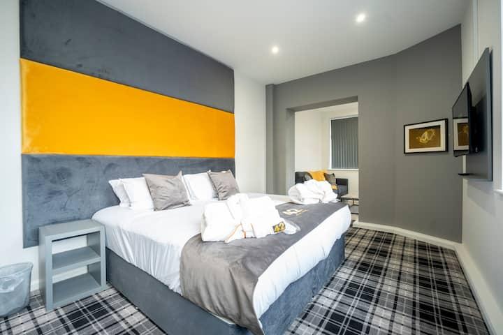 Executive Double/Twin Bedroom with En Suite