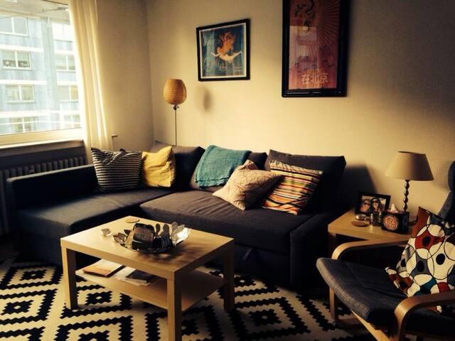 Colorful 1 bedroom in heart of Dü! - Düsseldorf - Byt