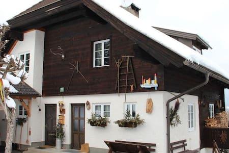 Doppelhaushälfte Almhaus Verditz - Verditz - Chalet