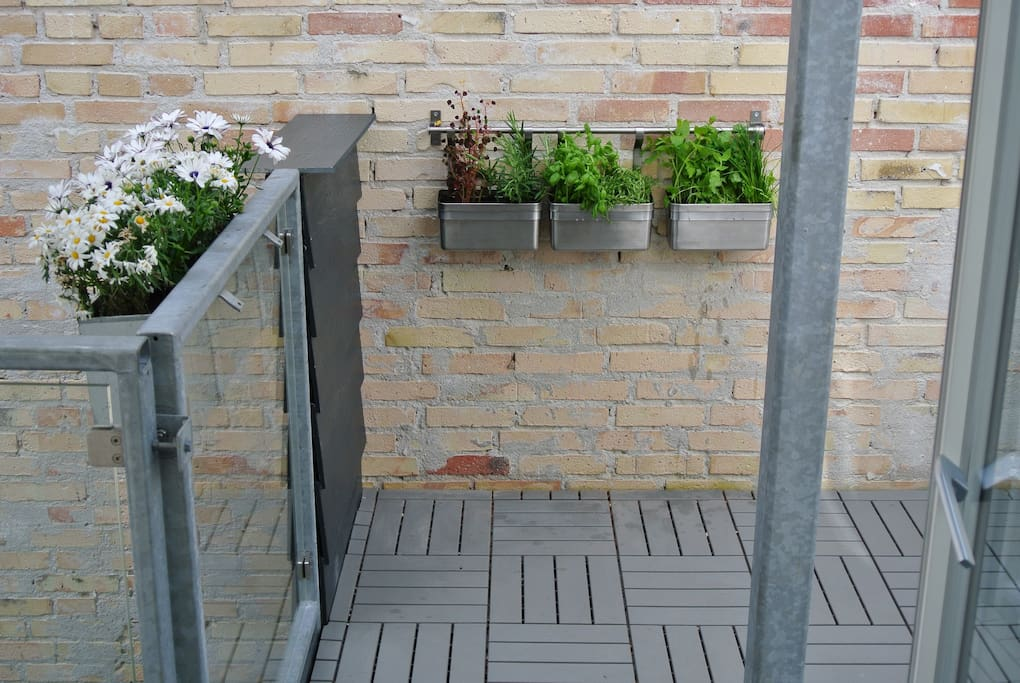 Great terrace with BBQ