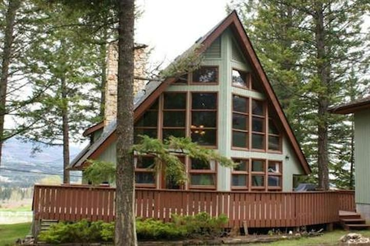 Fairmont Cabin. 10 people. SAUNA! - Fairmont Hot Springs - House