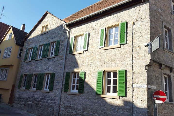 Historisches ehemaliges Gasthaus in Marktbreit - Marktbreit - บ้าน