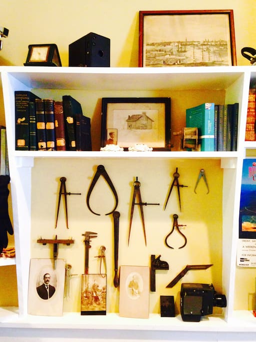 You'll find historical memorabilia and small treasures in every nook and cranny.
