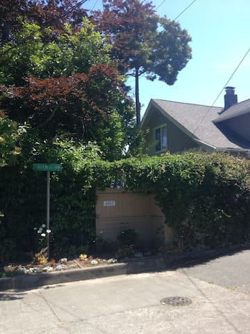 Secluded house on a dead end street