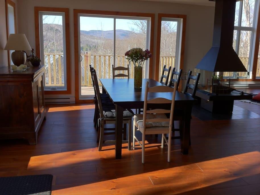 Wonderfull dining room  / Superbe salle a manger