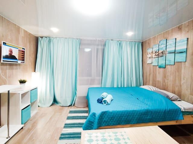 Уютные апартаменты в 15 мин от DME для 4х гостей