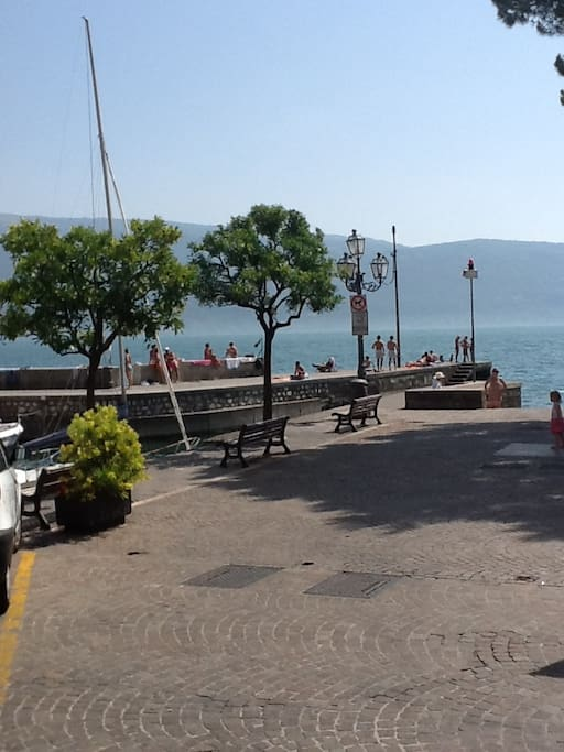 Am Hafen in Villa | At the little harbour in Villa