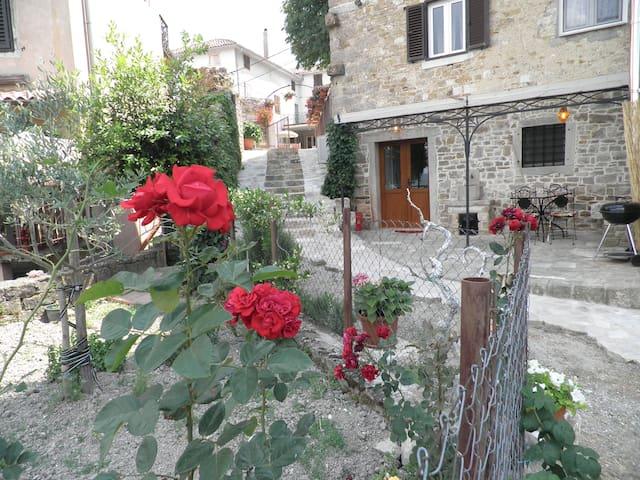 Amma  -monolocale con veranda - Motovun - Квартира