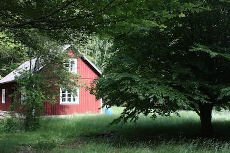 Secluded and idyllic wooden cabin - Färingtofta - Mökki