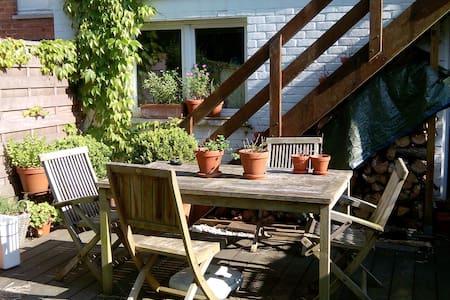 2 chambres calmes, 1 sdb, jardin - Braine-l'Alleud - Ház