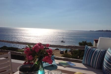 Room with roof terrace and sea view - Sant Josep de sa Talaia - Bed & Breakfast