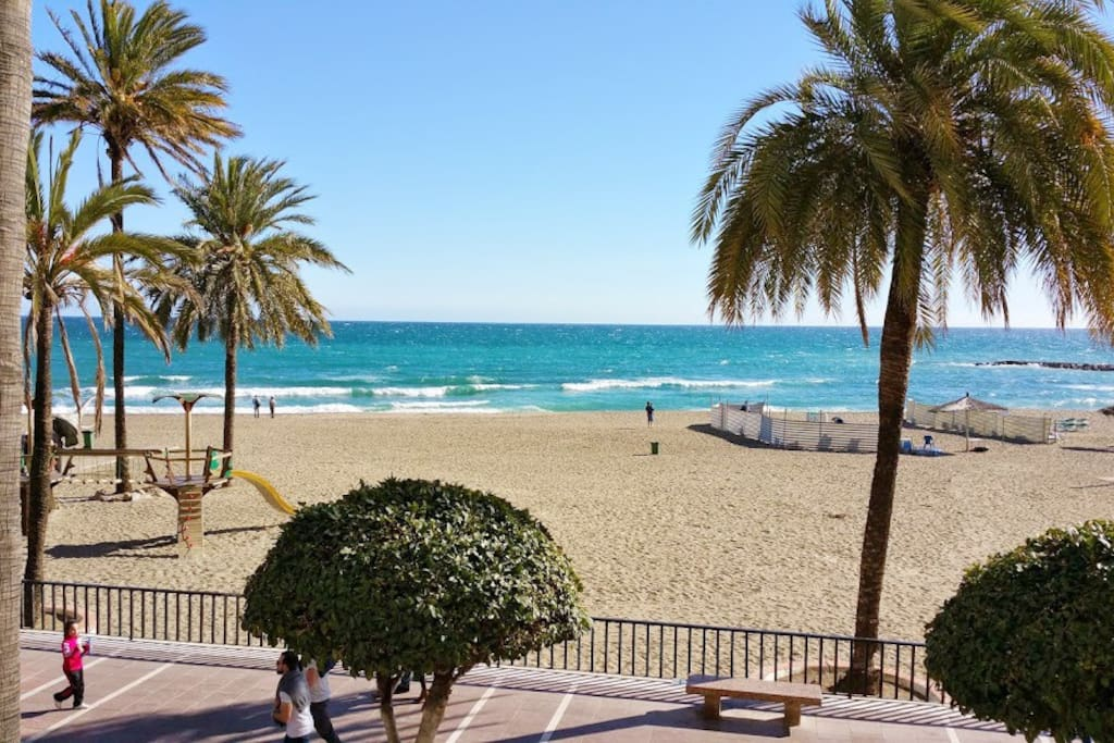 Miles of sandy Costa del Sol beaches just 5-10 min. drive from the apartment