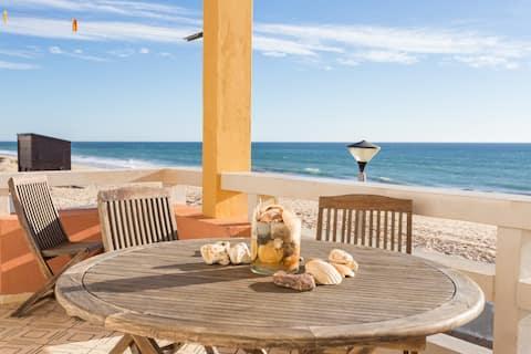 Vistaya Wohnung! Bester Meerblick Faro Beach