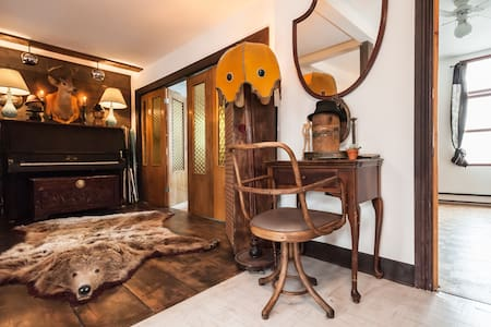 charming vintage apartment in the plateau - Montréal - Appartement