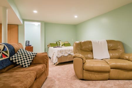 Comfy, Private Basement Suite - 米申(Mission)