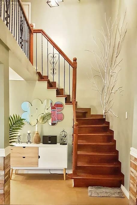 Very cozy upstairs
