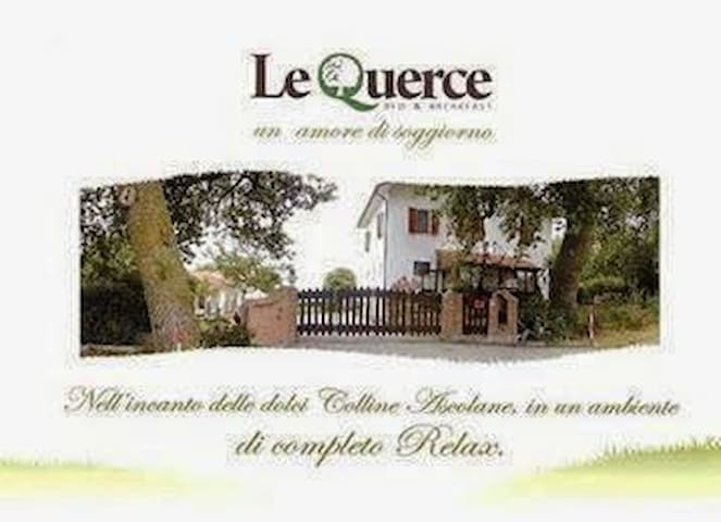 camera Le Querce - Province of Ascoli Piceno - Bed & Breakfast