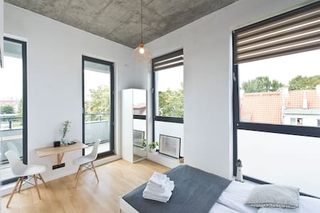 Cosy Space Apartments - 2-prv bathroom and balcony - Gdańsk