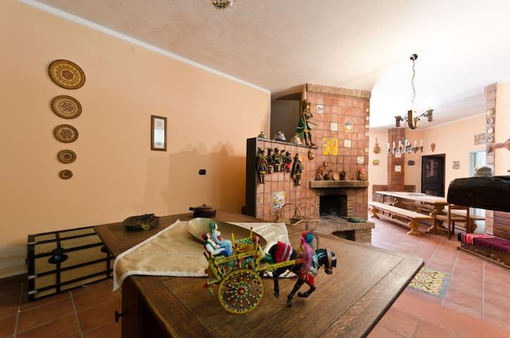 Villa alle pendici dell'Etna - Ragalna - Vila