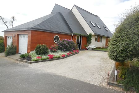 Bed and breakfast nearby Brest and Landerneau. - Dirinon - Pension