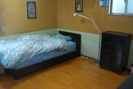 Spacious Room with Balcony and Loft - Nagoya