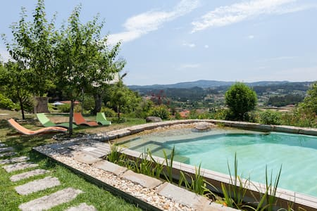 Beautiful scenery and private pool - Mozelos