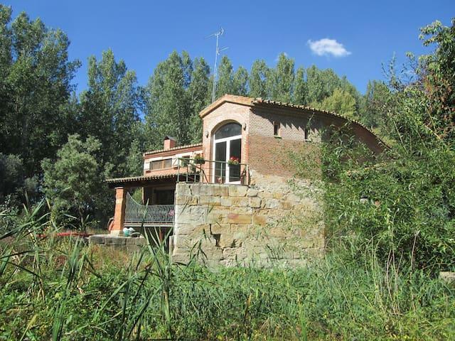 Apartamento sobre el río Tormes - Huerta - Huis