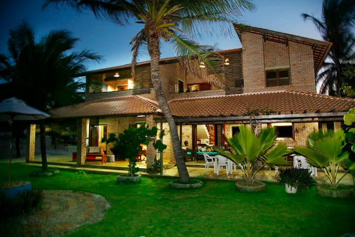 House with 4 suites/ swimming pool /best kitesurf - Trairi - House