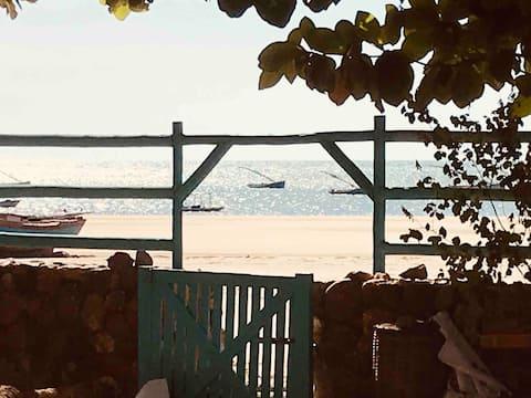Pé na areia Casinha do Mar