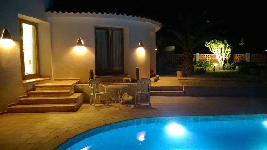 Villa Calpe => zwembad - zeezicht - privacy - 10 p - Calp - Villa