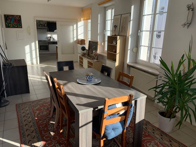 Bright & spacious apartment 5 min walk from center