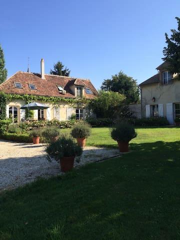 Belle maison Bourguignonne à 1h30 de Paris - Fouchères - Flat