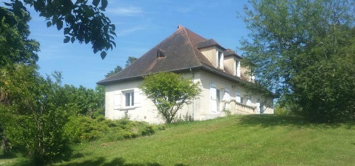 Maison familiale avec piscine sur Bergerac