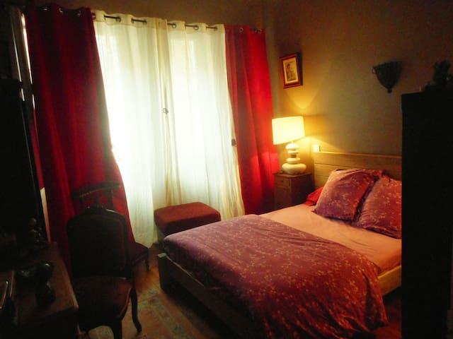 Chambre cosy en centre ville