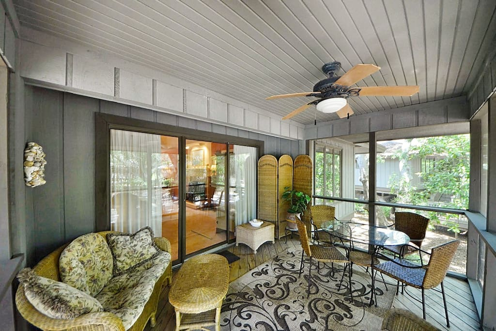Enjoy the breeze on the Porch