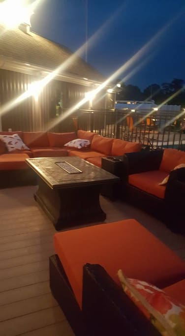 14000 sq ft deck area