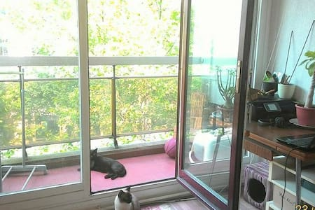 Studio confortable et lumineux - Paris - Apartment