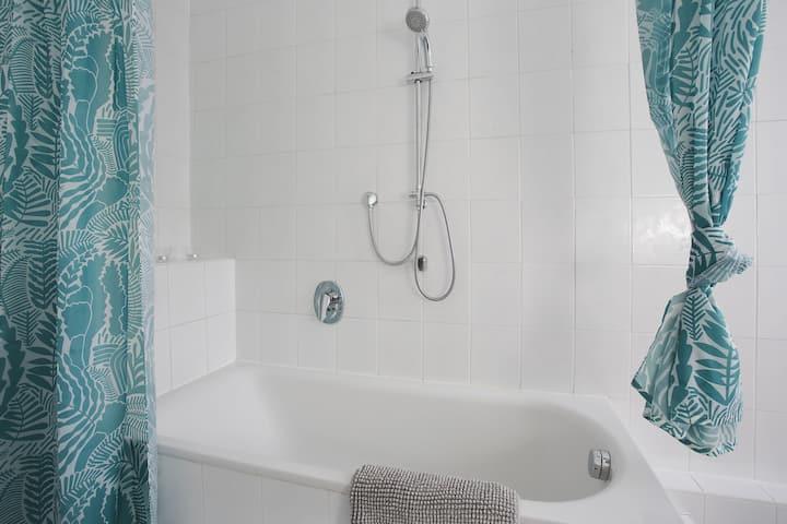 *Schöne 2-Z.-Wohnung mit Badewanne und Okerblick*
