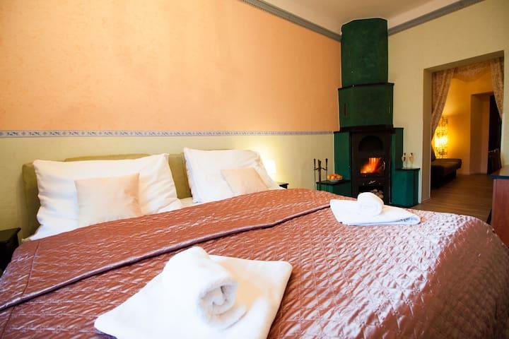 Dvoulůžkový pokoj - Písek - Bed & Breakfast