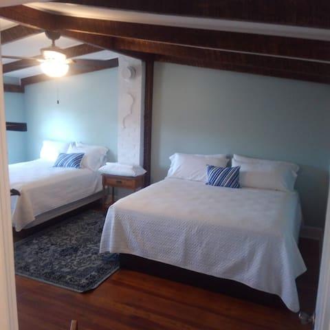 Bedroom2 - King and Queen Beds