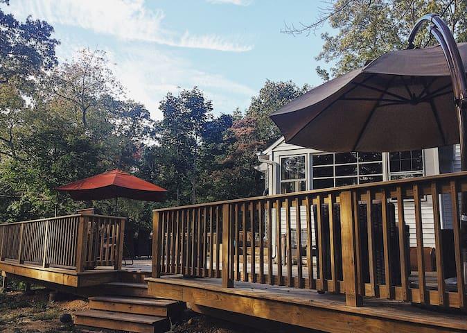 Beach Cottage with wrap around deck