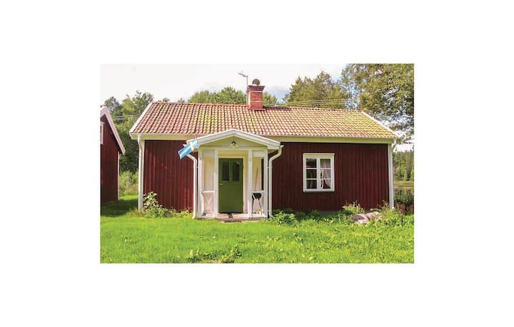 Stunning home in Vimmerby with WiFi and 1 Bedrooms