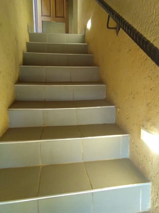 Entrance to Apartment - the stairs