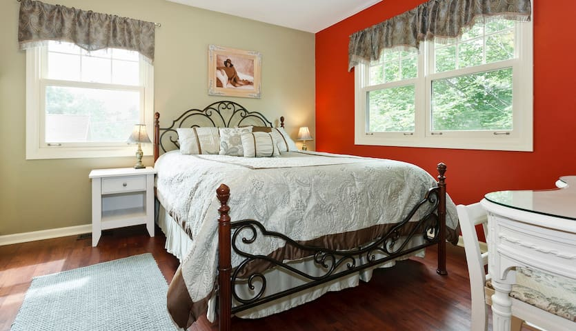 Lovely Guest Room - Walk to Train - Arlington Heights - Huis
