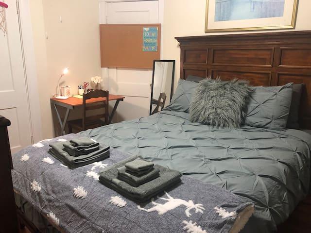 Cozy & Clean Private Room  near Boston & Cambridge