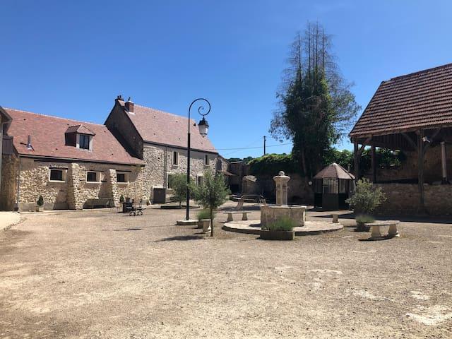 Vallée de Chevreuse-Gîte 2 pers-tout équipé
