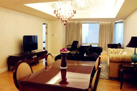 XuanWu Lake Luxury Suite 玄武豪华湖景双卧公寓 - Nanjing Shi - 公寓